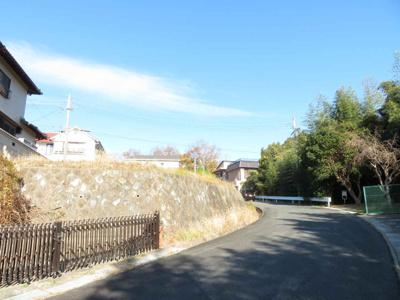【前面道路含む現地写真】神戸市垂水区松風台1丁目 土地