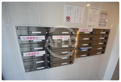 エイチ・ツーオー新深江 メールボックス