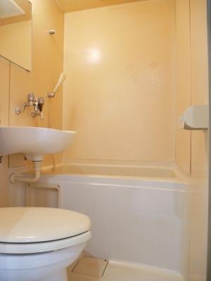 【浴室】ヴィラ泉町