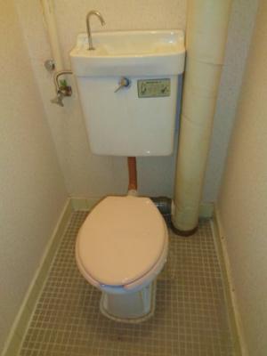 【トイレ】長居第三ハイツ