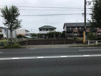 【前面道路含む現地写真】武蔵村山市神明1丁目売地