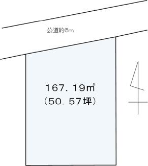 【土地図】八王子市元本郷町1丁目売地