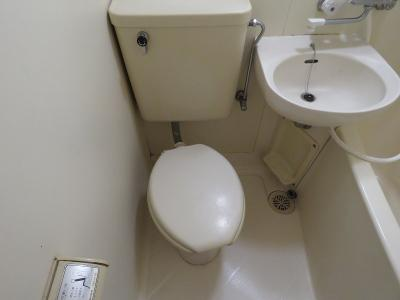 【トイレ】スカイブルー