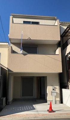 【外観】東大阪市小若江3丁目新築一戸建