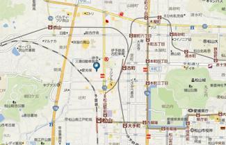 【地図】渡部マンション(愛光町)