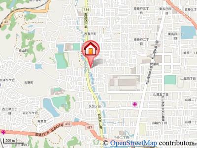 【地図】久万ノ台戸建 5号