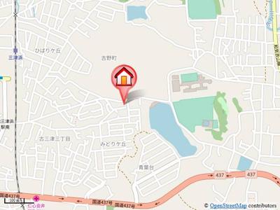 【地図】ユーミー古三津