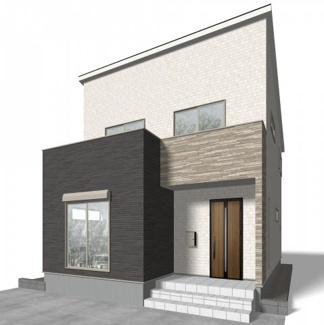 越谷市大字大林 新築一戸建て(計画段階のイメージ画像の為、実物とは異なります)