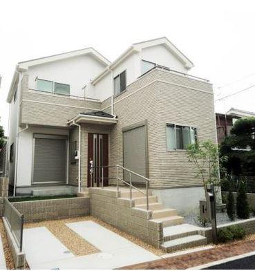 【外観】東大阪市南鴻池町新築一戸建