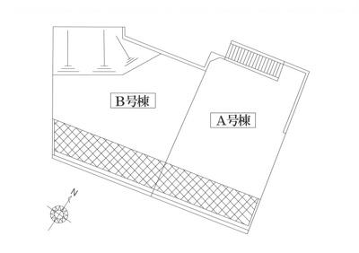 【区画図】横浜市緑区白山3丁目 建築条件無し