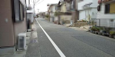 【前面道路含む現地写真】神戸市垂水区西舞子4丁目 土地