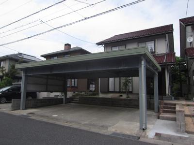 【外観】鳥取市美萩野四丁目戸建