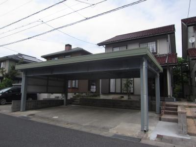 【外観】鳥取市美萩野四丁目戸建て