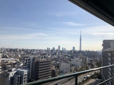 【展望】東白鬚第二マンション10号棟 13階 最 上階 リ ノベーション済