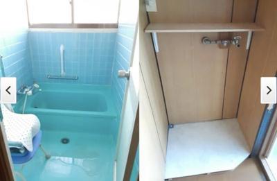 【浴室】善通寺生野町戸建て