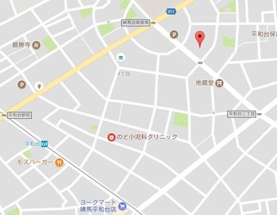 【地図】セジョリ練馬平和台