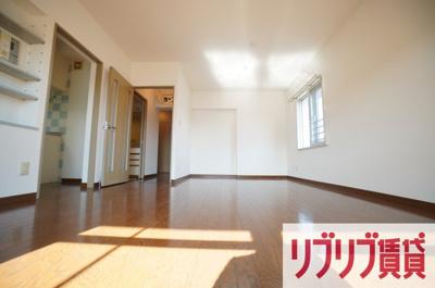 【居間・リビング】青葉の森公園通り5号棟