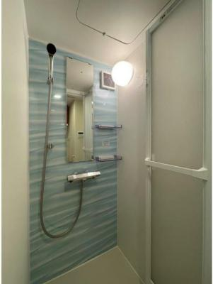 きれいなシャワールームです
