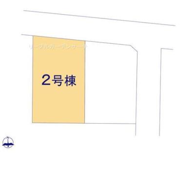 【区画図】リーブルガーデン倉敷市東塚3丁目 2号棟