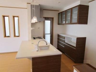 【キッチン】神戸市垂水区西舞子8丁目 新築戸建