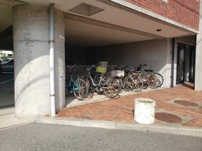 駐輪場☆神戸市垂水区 ブリックブロック☆
