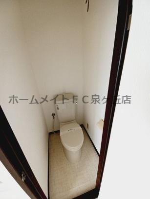 【トイレ】パナタウンあおばⅢ