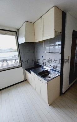 【キッチン】パナタウンあおばⅢ