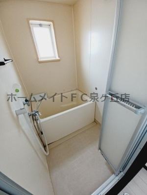 【浴室】パナタウンあおばⅢ