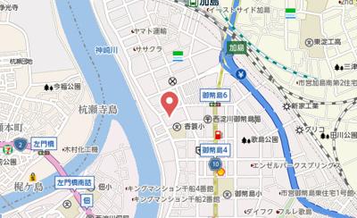 【地図】K&T御幣島マンション
