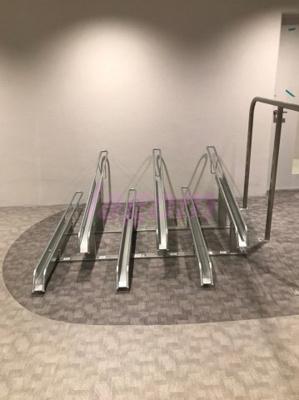 階ごとにある駐輪場
