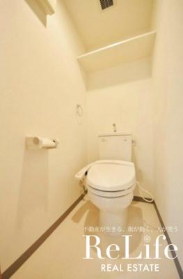 WC 温水洗浄便座付き