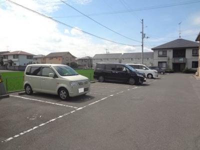 【駐車場】カーサ針田 A棟