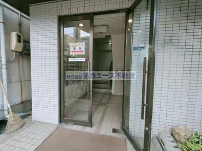 【エントランス】サニーサイド吉田駅前