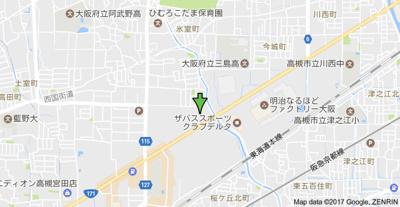 【地図】コーポ望月3棟 (株)Roots