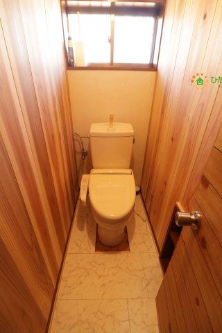 【トイレ】古河市三和 中古一戸建て