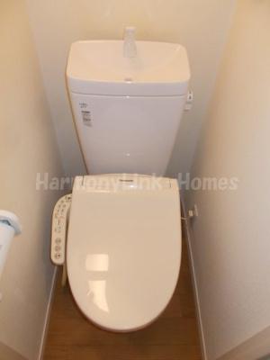 フェリスグラードの落ち着いたトイレです