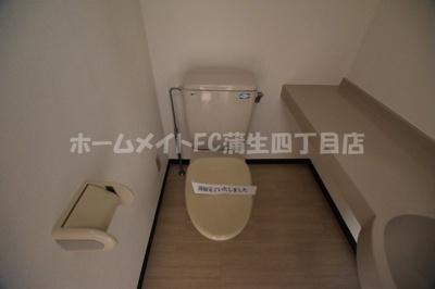 【トイレ】メゾンドヴィレ城東