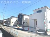 岐阜市茜部中島新築建売 3区画 2021年3月完成♪ いつでも内覧可能ですの画像