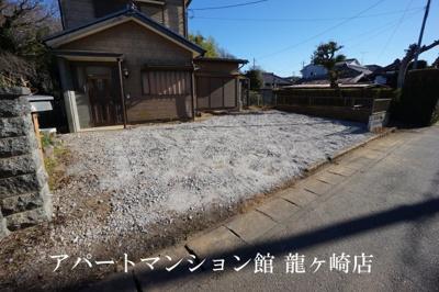 【駐車場】龍ヶ崎市貸家