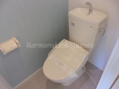 ハーモニーテラス上池袋のゆったりとした空間のトイレです☆