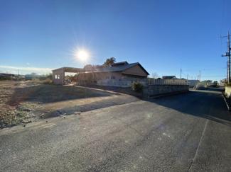 【外観】比企郡川島町三保谷宿 資材置き場用地 413坪