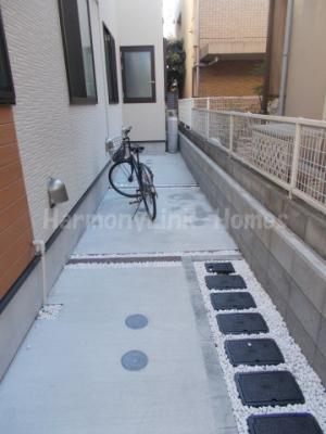 HAPPINESSの駐輪スペース