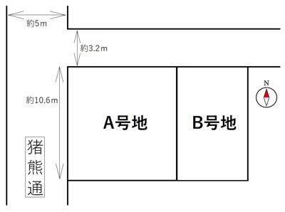 【区画図】京都市下京区柿本町