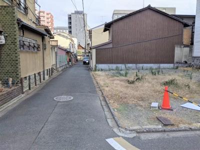 【前面道路含む現地写真】京都市下京区柿本町