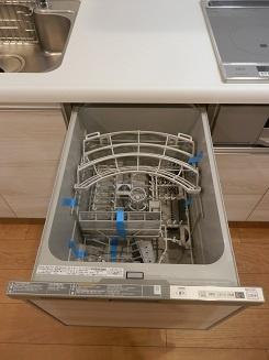 食器洗浄機が後片付けをサポート!食事後のくつろぎタイムをゆっくりもてます♪