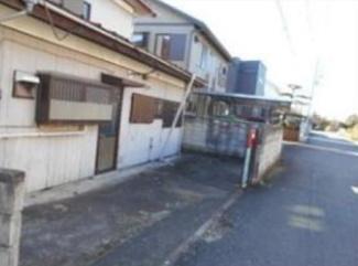 【前面道路含む現地写真】高崎市足門町 売地