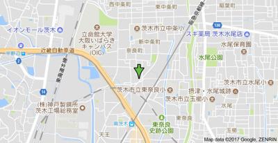 【地図】ハイツパル