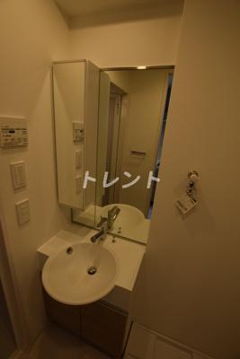 【洗面所】グランパセオ神田駅前【GRANPASEO神田駅前】