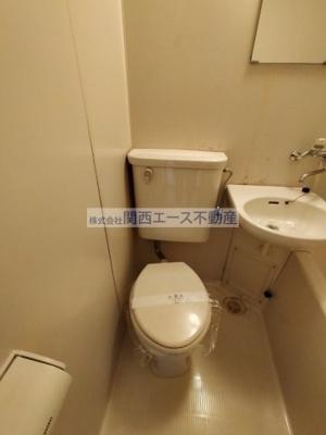 【トイレ】シティーコア高井田Ⅰ