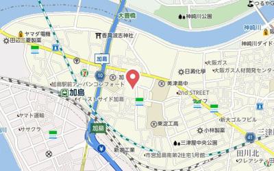 【地図】コンフォール